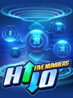 hi lo five numbers